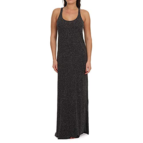 O'NEILL LW Racerback Jersey Vestidos y Monos para Mujer, Mujer, Vestidos/Monos, 9A8912, Gris Oscuro Cuerpo, L