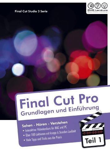 Final Cut Pro 7-Grundlagen und Einführung