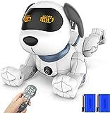 okk Cane Robot Intelligente, 2020 Cane Telecomandato di Recente con Canto, Danza, Conversazione, Giocattoli Educativi Precoci Intelligenti Per 3-12 Anni Ragazzi Ragazze Regalo di Compleanno di Natale