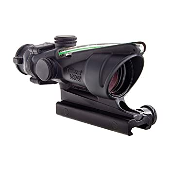 Trijicon ACOG 4 X 32 Scope Dual Illuminated Horseshoe Dot .223 Ballistic Reticle Green