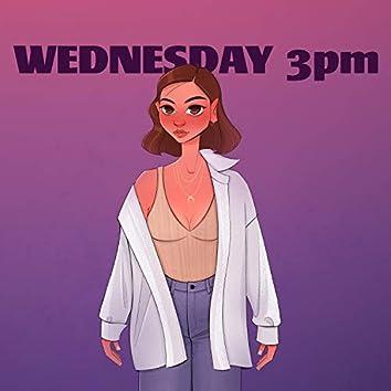 Wednesday 3pm