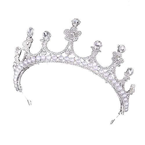Nieuwe luxe prinses Koreaanse bruid kroon kristal tiara jurk accessoires jurk haar