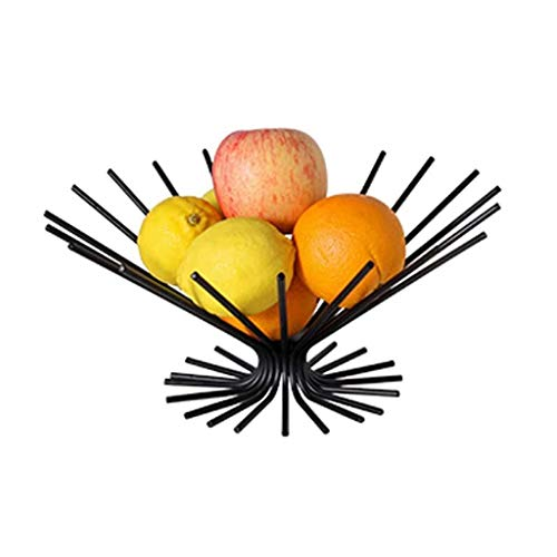 YWSZJ Wrought Iron Snack Storage Basket, Fruit basket, Decorative Display Stand Home accent furnishings Snack Tray Dessert Table Fruit Basket