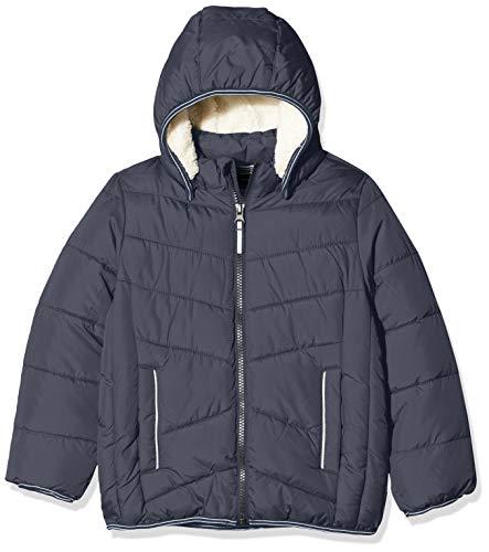 NAME IT Jungen NMMMUS Puffer Jacket Camp Jacke, Blau (Dark Sapphire Dark Sapphire), (Herstellergröße: 122)