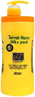 Terroir Natto Silky Pack Hi Power LPP 33.8oz /1000ml Hair Pack treatment - Beans protein / Herb extract - Damaged Hair & Before After Chemical Treatment