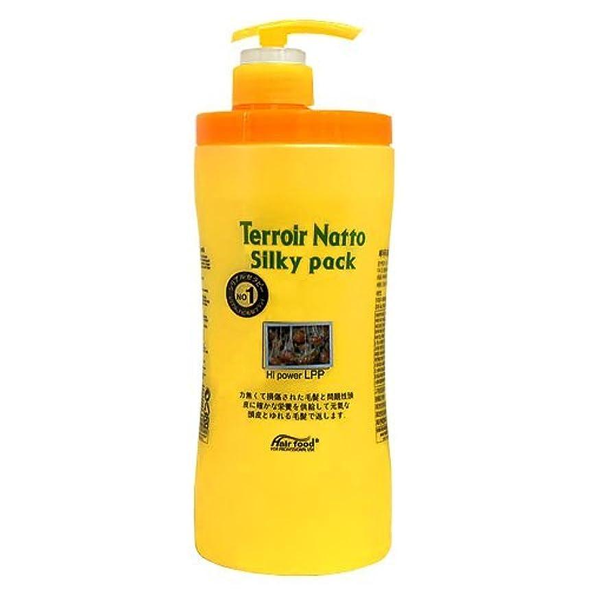 性交移民固執テロワール 納豆 シルキー パック ハイ パワー LPP 1000ml ヘア パック トリートメント - ビフォー アフター ケミカル トリートメント ( Terroir Natto Silky Pack Hi Power LPP 1000ml Hair Pack treatment -Before After Chemical Treatment ) [並行輸入品]
