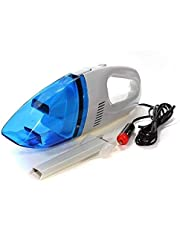 FINIVIVA 12V High Power Portable Lightweight Vacuum Cleaner for Cleaning Car, Bike and Homes (1pc,MultiColour)