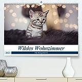 Wildes Wohnzimmer - Die Bengalkatze (hochwertiger DIN A2 Wandkalender 2021, Kunstdruck in Hochglanz)