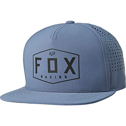 Fox Crest Snapback Hat Blue Steel
