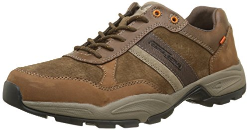 camel active Evolution, Herren Sneaker, Braun (timber/taupe 01), 42 EU (8 UK)