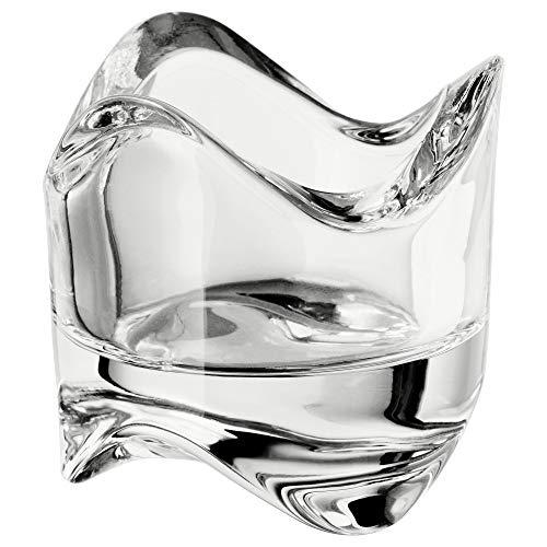 IKEA.. 602.590.96 Väsnas Teelichthalter aus klarem Glas