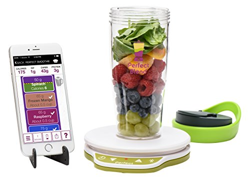 Perfect Blend 2.0 Smart Scale + App—Track nutrition and make delicious smoothies