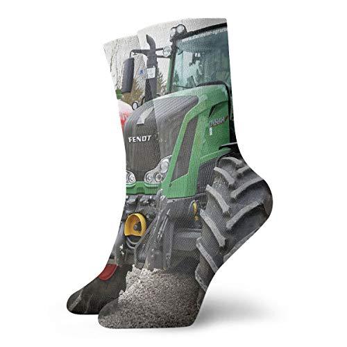 ADICOM Socken Weiche Wärmer Strümpfe 1 Paar Für Frauen & Männer Sport Socken Fendt 828 Vario - Man Trucknology Days 11,8 Zoll (30 Cm)