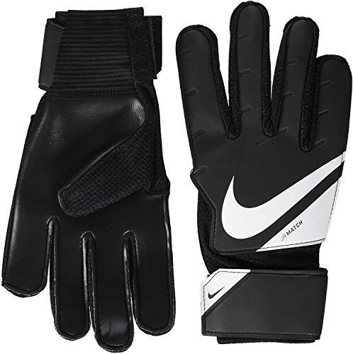 Nike NK GK Match Jr - FA20 Gants de Foot Enfant Black/White/(White) FR: XS (Taille Fabricant: 3)