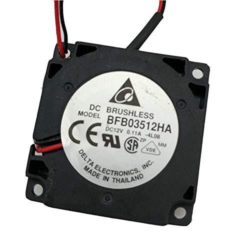 Cooling Fan For Delta BFB03512HA,BFB03512HHA 35 * 35 * 10mm 3.5cm DC12V 0.11A 2-line 3D printer blower cooler fan