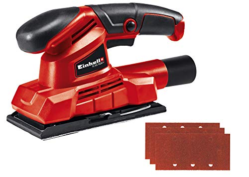 Einhell Ponceuse vibrante TC-OS 1520/1 (150 W, Conception compacte, Revêtement Soft Grip,...