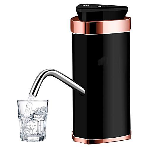 Distributeur d'eau système de pompe interrupteur portable pompe à eau bouteille dispositif d'alimentation en eau, domicile/bureau, noir