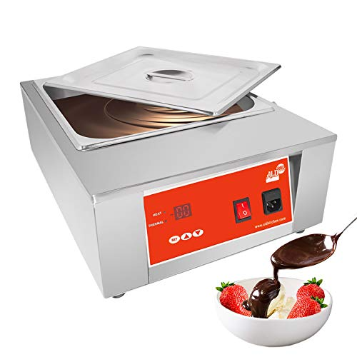 ALDKitchen Digital Electric Chocolate Melter | 8 kg Commercial Chocolate Heater | 1 Tank | 110 V