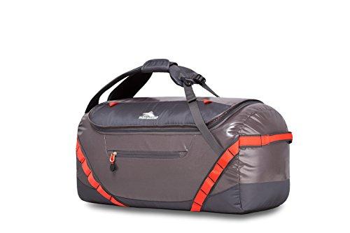 High Sierra Kennesaw Sport Duffel Bag, Charcoal/Mercury/Redline,...