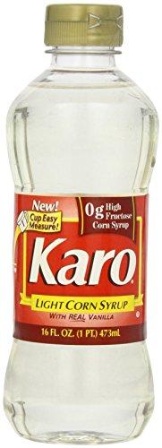 Karo Light Corn Syrup with Real Vanilla, 16 Fl Oz