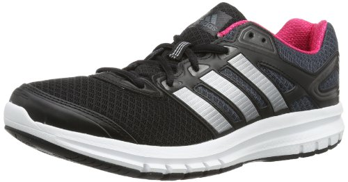 adidas Performance Damen Duramo 6 Laufschuhe, Schwarz (Black 1/Tech Grey Metallic S14/Running White FTW), 42 2/3 EU