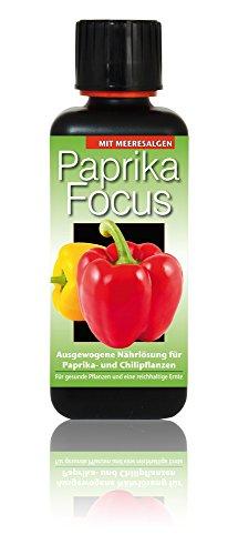 Dünger Paprika Focus 300ml Flüssigdünger Konzentrat Chili Pflanzen Düngemittel
