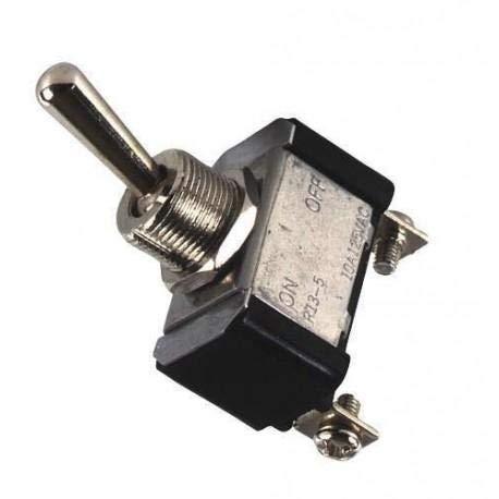 Interrupteur on-off-on metal chrome - ADNAuto