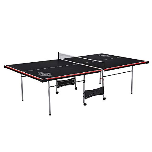 Why Choose Lancaster 4 Piece Official Tournament Size Indoor Folding Table Tennis Ping Pong Game Tab...