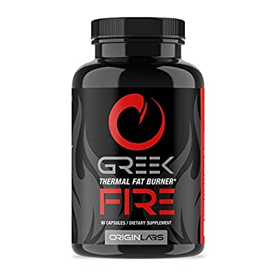 Greek Fire by Origin Labs - Thermal Fat Burner Supplements - Weight Loss Pills - Green Tea - Fat Burners - Weight Loss Supplements - 90 Capsules