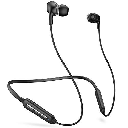 Bluetooth Kopfhörer,kabellos,In-Ear-Kopfhörer,magnetisch und hängendes Hals-Design,Bluetooth 5.0,16 Stunden Spielzeit,IPX5 wasserdicht für Workouts,Laufen,Schwimmen,Fitnessstudio,Arbeit