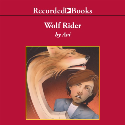 Wolf Rider audiobook cover art