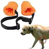 YUYUSO Dog Elbow Protector Fleece Elbow Sleeves...