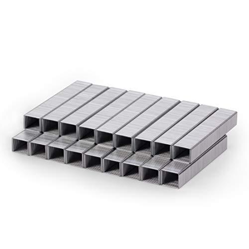 Mr. Pen- Staples, Heavy Duty Staples, 3600 Pc, 60 Sheet Capacity Staple, 3/8 inch Length, Staples for Stapler, Staples Office Supply, Office Staple, Paper Staple, One Touch Staple, Strip, Large Staple
