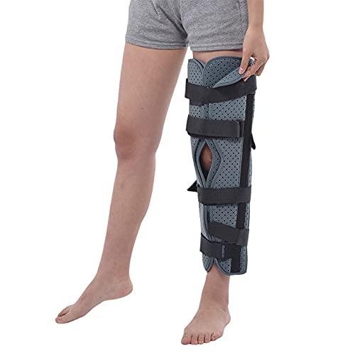LKKHOSC Rodilleras para Hombres Rodilleras De Tela Compuesta De Rótula Abierta Ajustable para Mujeres para Artritis Dolor En Las Articulaciones Rehabilitación De Lesiones Adecuadas para Piernas,M