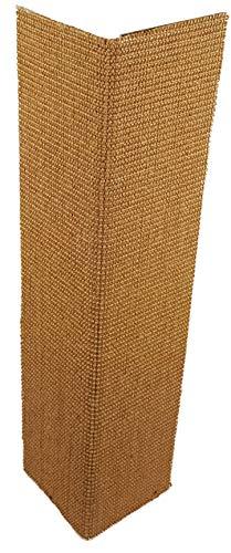 Rudloff Kratzecke 1a Sisalteppich auf Trägermaterial aufklappbar 70 x 30 cm - Flügelbreite 15 cm