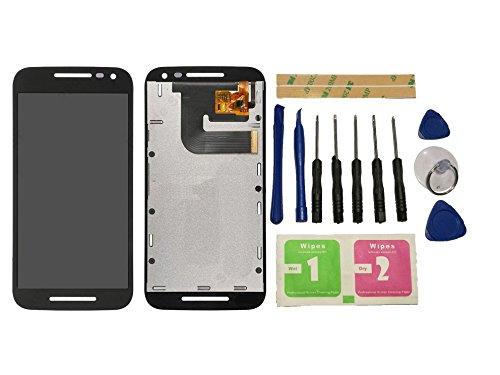 Flügel for Motorola Moto G3 XT1544 XT1550 XT1540 XT1541 XT1543 Display LCD Ersatzdisplay Schwarz Touchscreen Digitizer Bildschirm Glas Assembly (ohne Rahmen) Ersatzteile & Werkzeuge & Kleber