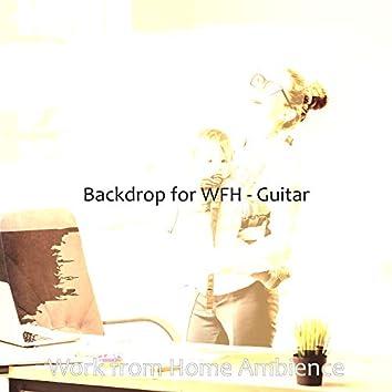 Backdrop for WFH - Guitar
