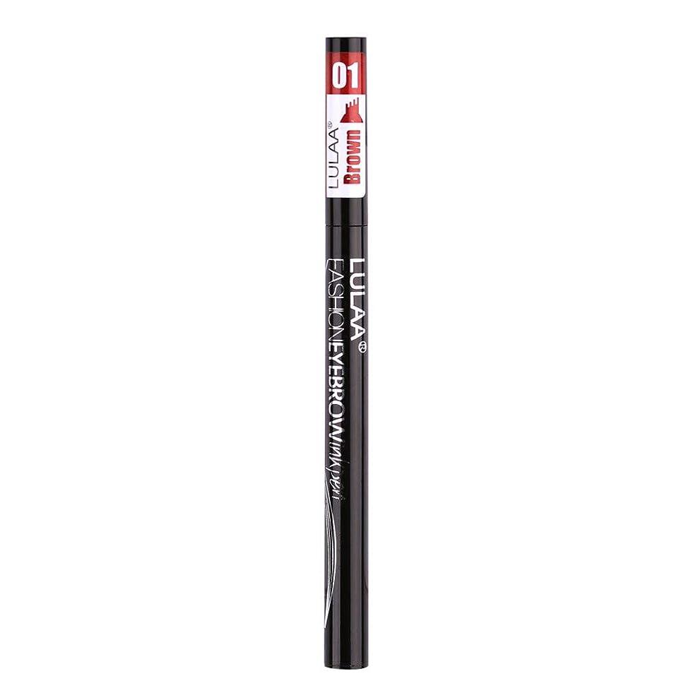 合図剃る大使館着色すること容易な咲かない永続的な液体の眉毛の鉛筆