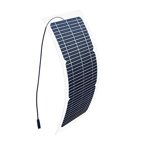 YYANG Solarpanel 18V10W Semi-Flexible Einkristall Transparent DIY Electric Toy Lade Photovoltaik-Komponenten Zur Stromerzeugung