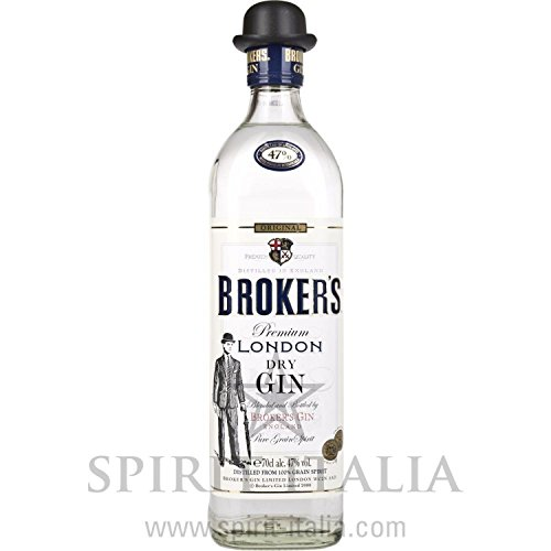 Broker's London Dry Gin 47,00 % 0.7 l.