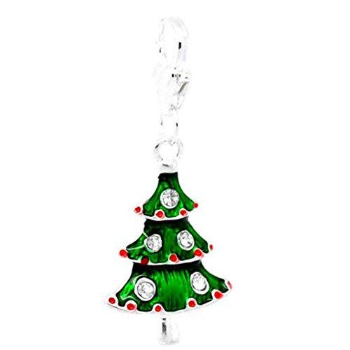 Sexy Sparkles Weihnachtsbaum-Anhänger für Damen, mit Karabinerverschluss