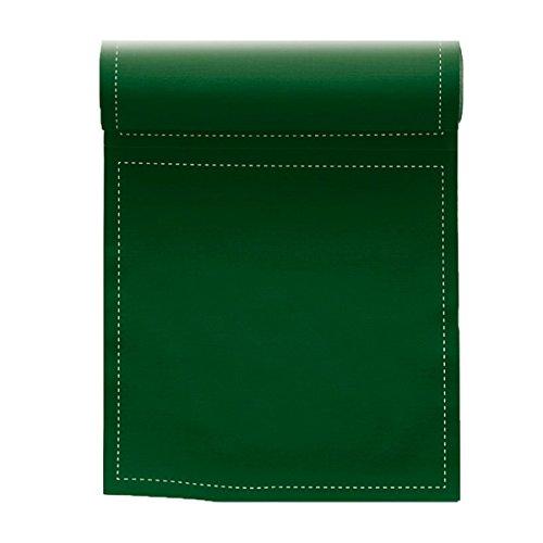 Serviette de table en coton 20x20cm - Idéale pour fête, anniversaire, cocktail - Rouleau de 25 serviettes - Vert Anglais