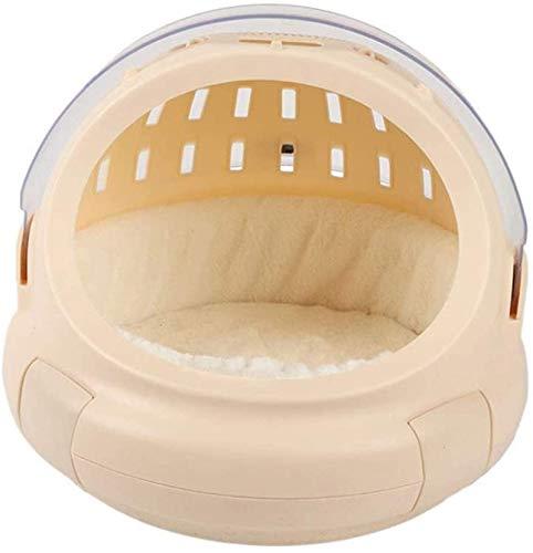 EREW Cama para mascotas, cama para mascotas, caja de aire multifuncional, ventilación de plástico ABS, cómoda perrera para gatos Cama para mascotas 2019, cama para mascotas