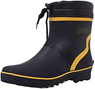 [VONSU] レインブーツ メンズ レインシューズ ロング 長靴 雨具 防水 釣り 男性用 紳士用 カジュアル 24/24.5/25/25.5/26/26.5/27/27.5/28 グリーン