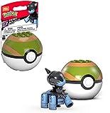 Mega Construx Pokemon Deino Figure Building Set with Poke Ball