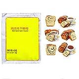 Sidougeri Levadura de pan de levadura activa de 60 g, levadura seca, tolerancia a la glucosa