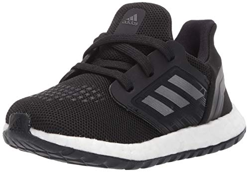 adidas Women's Ultraboost 20 Running Shoe, Black/Night Metallic/White, 7.5 M US