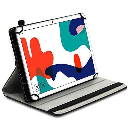 UC-Express Tablet Hülle kompatibel für Huawei MatePad T10 / T10s Tasche Schutzhülle Schutz Cover 360 Drehbar Universal Case, Farbe:Motiv 3