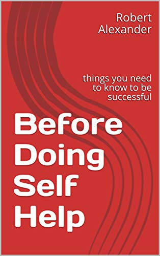 Before Doing Self Help:  things you need to know to be successful (English Edition)