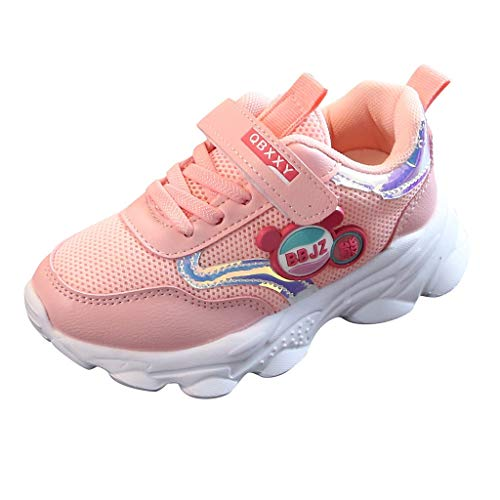 Precioul Unisex Damen Herren Kinder LED Sneaker high Der Jungen- und Mädchen-Cartoon der Kinder trägt die Buchstaben, atmungsaktive Freizeitschuhe des Ineinandergreifens